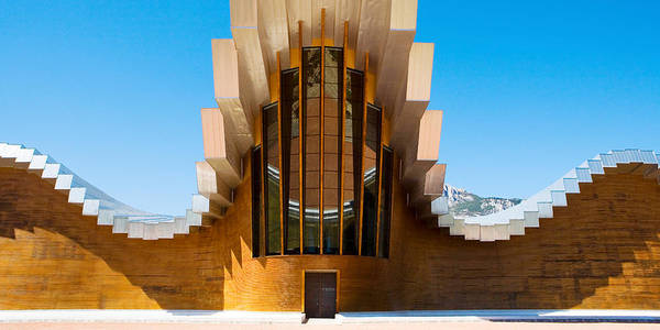 Santiago Calatrava Photograph - Bodegas Ysios Winery Building, La by Panoramic Images