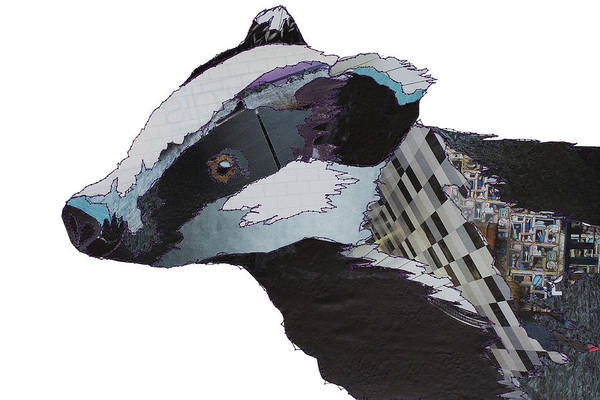 Stitch Painting - Bodge The Badger by MGL Meiklejohn Graphics Licensing
