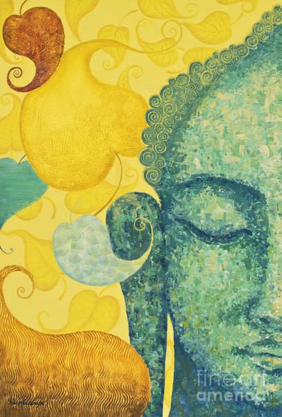 Wall Art - Painting - Bodhi by Yuliya Glavnaya