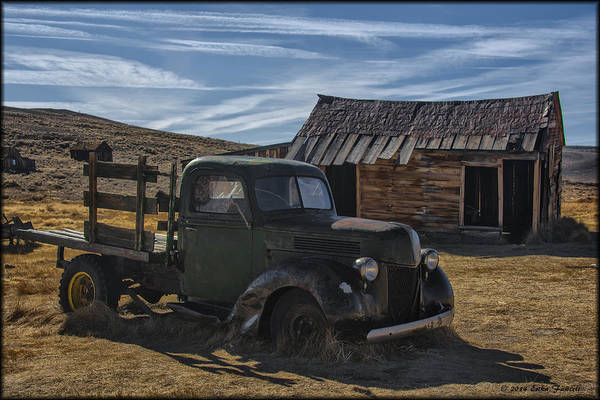 Photograph - Bodie Abandoned Truck by Erika Fawcett