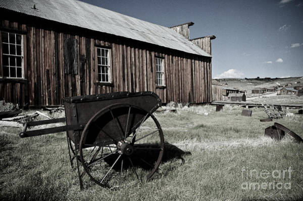 Bodie Painting - Bodie California  by Nick Boren