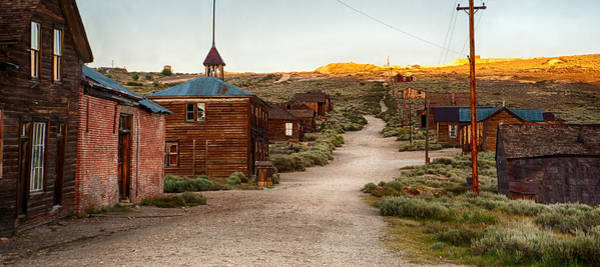 Bodie Ghost Town Wall Art - Photograph - Bodie California by Cat Connor