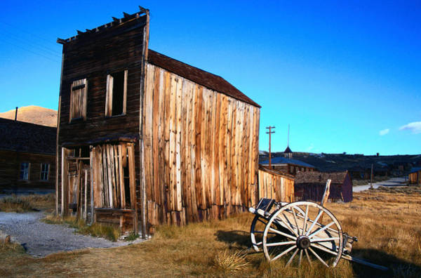 Brown County State Park Photograph - Bodie, California by Richard Nebesky