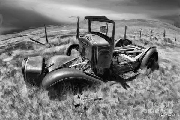Photograph - Bodie Classic Black And White by Blake Richards