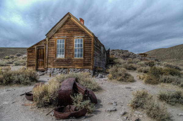 Photograph - Bodie Fixer by Mike Ronnebeck