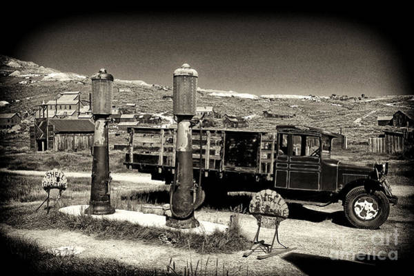 Photograph - Bodie Gas Station by Paul W Faust -  Impressions of Light
