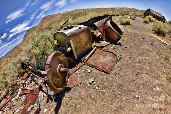 Photograph - Bodie Ghost Town Old Ford by Blake Richards