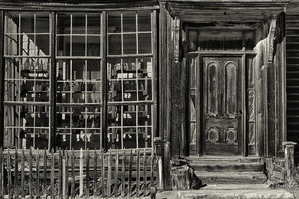 Bodie Ghost Town Wall Art - Photograph - Bodie Ghost Town by Robert Fawcett