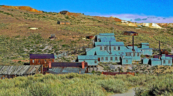 Photograph - Bodie Gold Mining by Joseph Coulombe