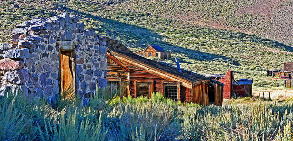 Photograph - Bodie Hillside Ruins by Joseph Coulombe