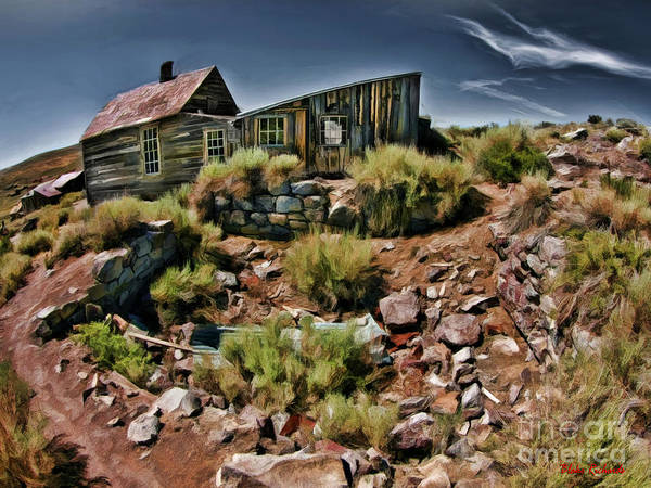 Photograph - Bodie House With Add On by Blake Richards