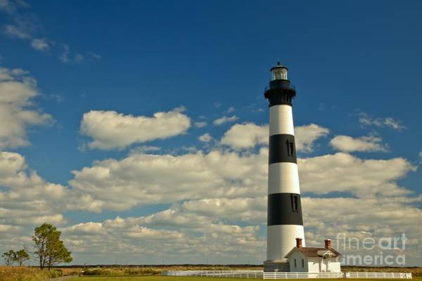 Photograph - Bodie Island Lighthouse Landscape by Adam Jewell