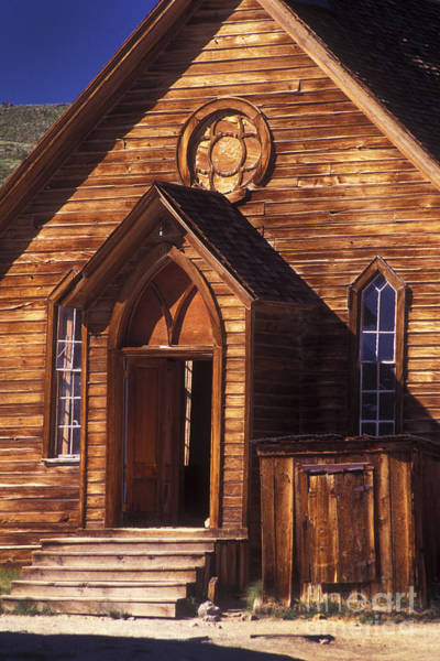 Photograph - Bodie Methodist Church by Paul W Faust -  Impressions of Light