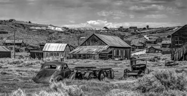 Bodie Ghost Town Wall Art - Photograph - Bodie by Mike Ronnebeck