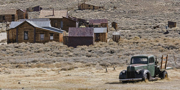 Photograph - Bodie Mining Town by Wes and Dotty Weber