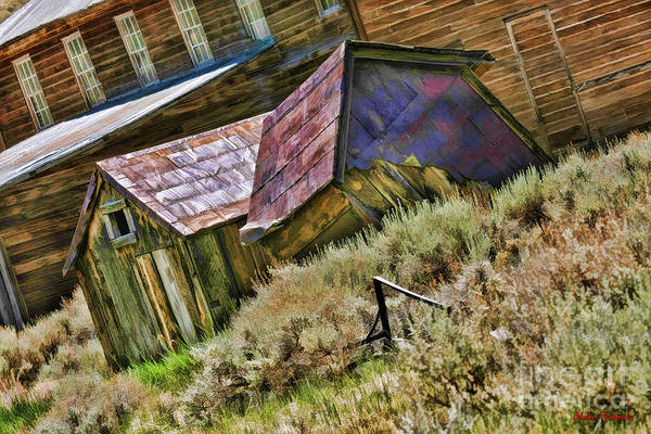Photograph - Bodie Misplaced Shack by Blake Richards
