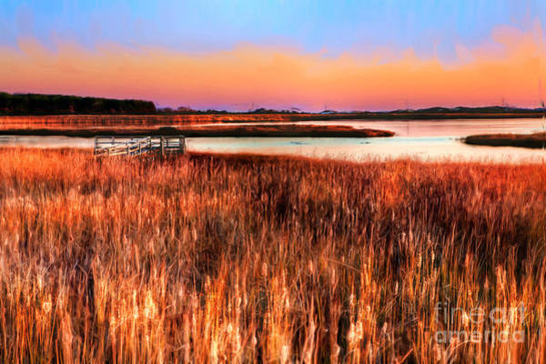 Bodie Painting - Bodie Morning II - Outer Banks by Dan Carmichael