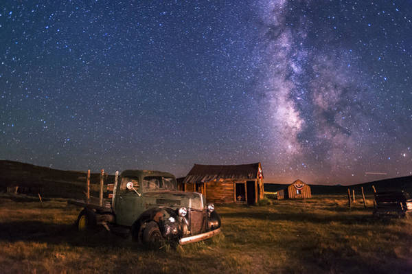 Milky Way Wall Art - Photograph - Bodie Nights by Cat Connor