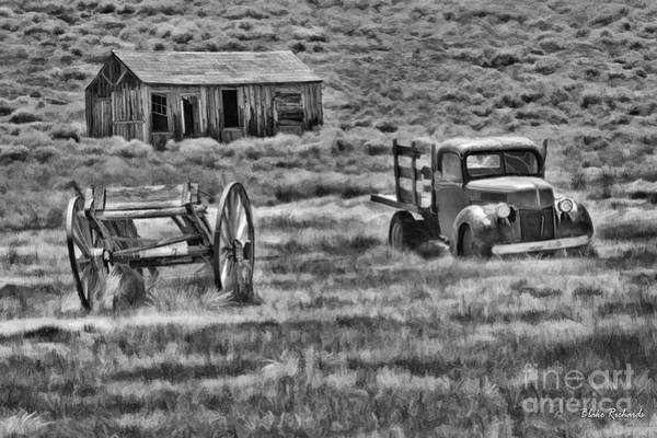 Photograph - Bodie Old Times by Blake Richards