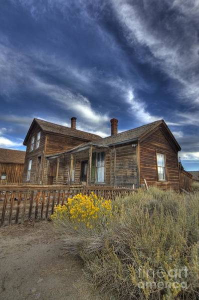 Photograph - Bodie Residence by Crystal Nederman