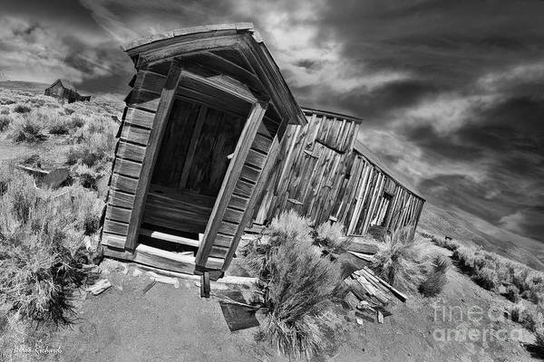 Photograph - Bodie Toilet by Blake Richards