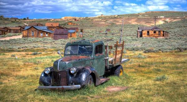 Photograph - Bodie Truck II by Mike Ronnebeck