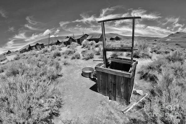 Photograph - Bodie Well by Blake Richards