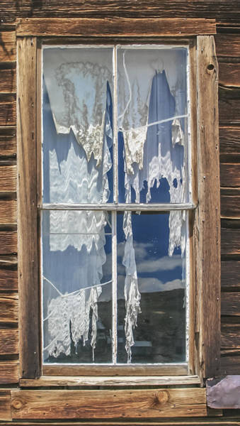 Photograph - Bodie Window by Wes Jimerson