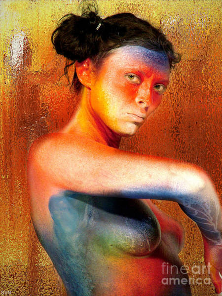 Wall Art - Photograph - Bodypainted 2254b by The Hybryds
