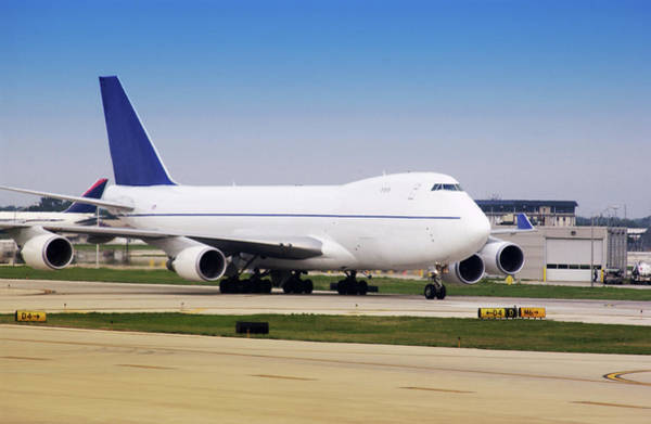 Freight Transport Wall Art - Photograph - Boeing 747 Cargo Airplane by Steve Allen/science Photo Library