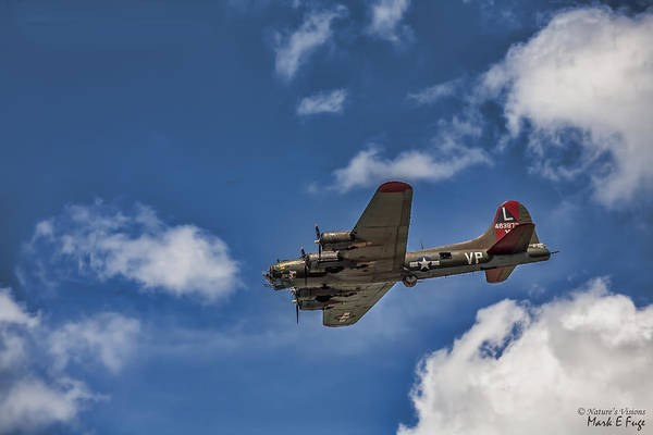 Wall Art - Photograph - Boeing B-17 Flying Fortress by Mark Fuge