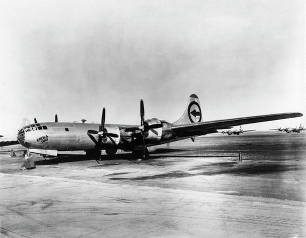 Wall Art - Photograph - Boeing B-29 'enola Gay' by Us Department Of Energy