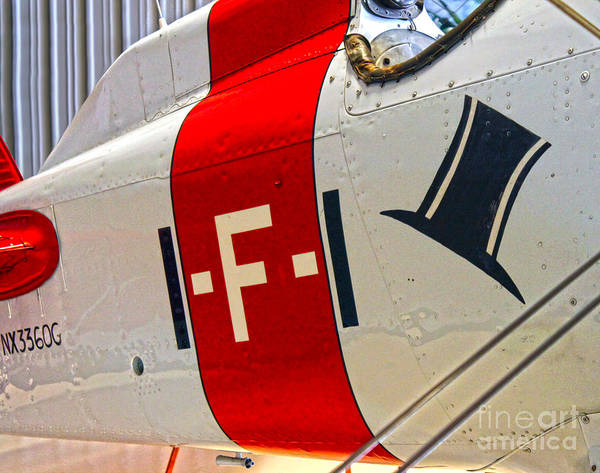 Photograph - Boeing Fighter 4b-1 -  Close Up by Gregory Dyer