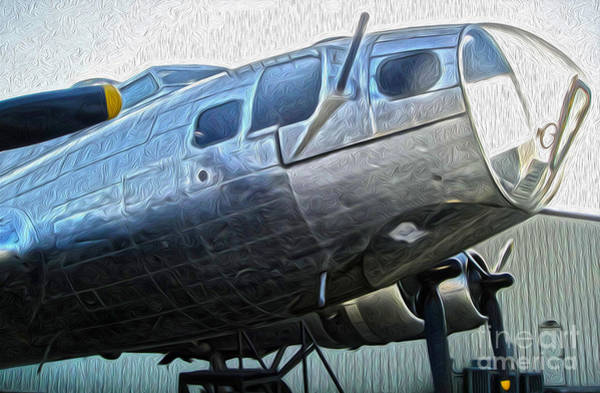 Painting - Boeing Flying Fortress B-17g  -  01 by Gregory Dyer