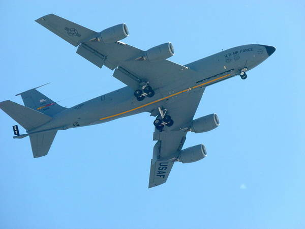 Photograph - Boeing Kc 135 Tanker by Jeff Lowe