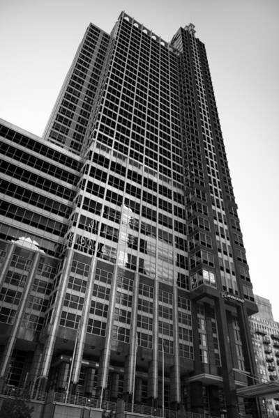 Wall Art - Photograph - Boeing World Hq Chicago B W by Steve Gadomski