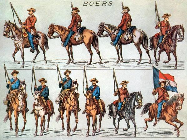 Wall Art - Photograph - Boer Commandos, Civilian Militia by Science Source