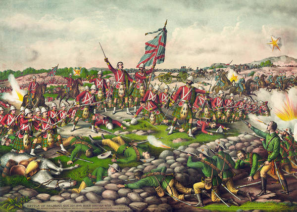 Wall Art - Painting - Boer War Belmont, 1899 by Granger