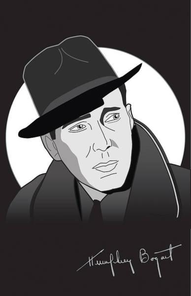 Bogart Digital Art - Bogart by Kyle Peron