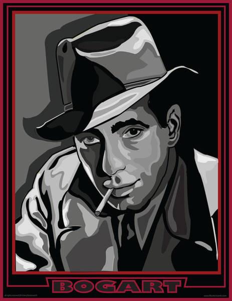 Bogart Digital Art - Bogart by Larry Butterworth