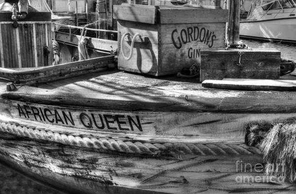 Wall Art - Photograph - Bogart's Boat Bw by Mel Steinhauer