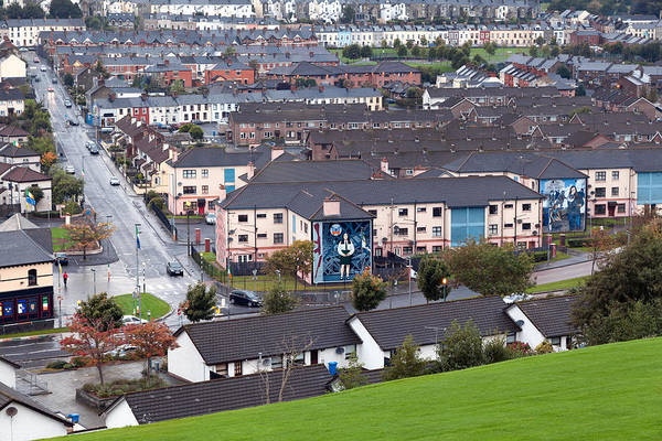 Northern Italy Photograph - Bogside Neighborhood, Derry, Northern by Andrea Ricordi, Italy