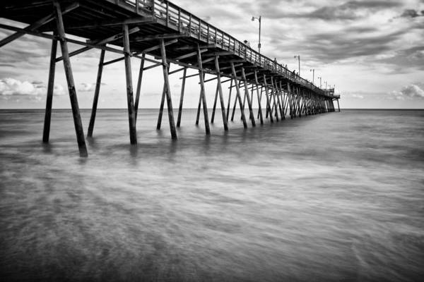Photograph - Bogue Inlet Fishing Pier #1 by Ben Shields