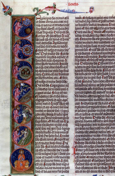Painting - Bohemian Bible, 1391 by Granger