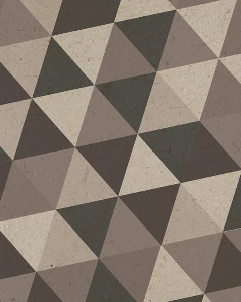 Triangles Painting - Boho Triangles V by Tammy Apple