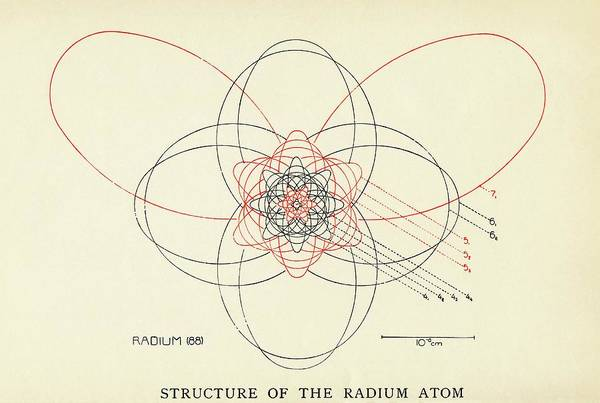Model A Photograph - Bohr-sommerfeld Model Of The Atom by Emilio Segre Visual Archives/american Institute Of Physics