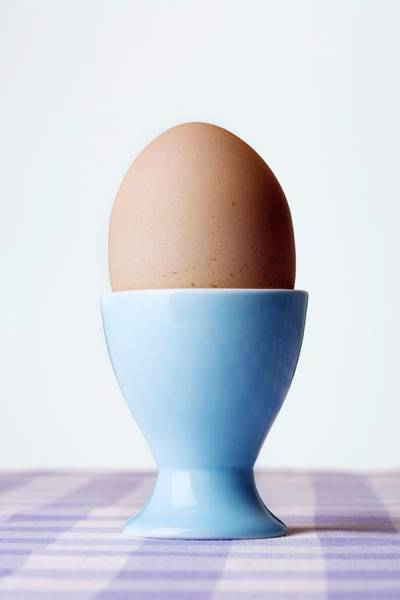 Egg Cup Photograph - Boiled Egg by Emmeline Watkins/science Photo Library