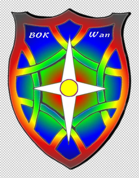 Painting - Bok-wan Family Crest by Ahonu