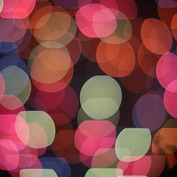 Fantasy Wall Art - Photograph - Bokeh Fireworks #fireworks #4ofjuly by Tony Castle