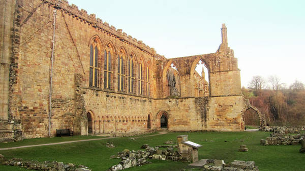 Bolton Photograph - Bolton Abbey by Red Sky
